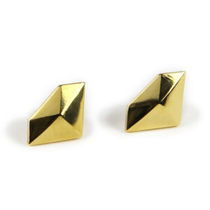 Diamond Studs, Gold