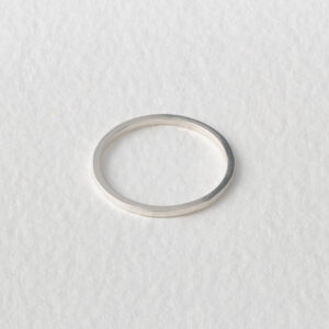 Light Weight Ring. Silver.
