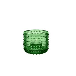 Kastehelmi Votive CANDLE HOLDER, Green 64mm