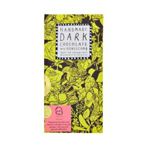Bee Free Dark Chocolate with Honeycomb Pieces