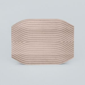 Field Curve Cutting Board