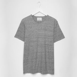 Essential Tee -  Multi Grey Melange