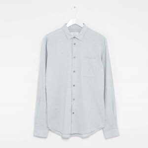 Grey Blue Melange Shirt
