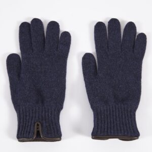 Knitted Glove, Navy