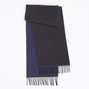 Scarf, Navy/Black