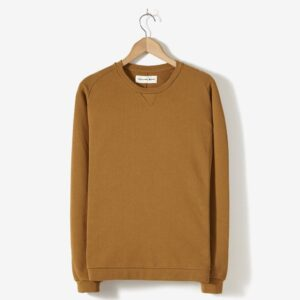 Easy Crew Loopback Sweatshirt, Camel