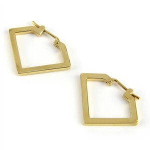 Diamond Hoop, Gold