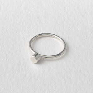 Matthew Calvin, Dot Ring. Silver.