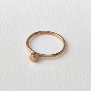 Dot Ring. Rose Gold.