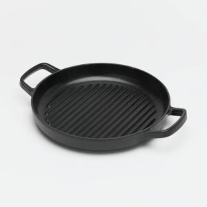 Enamelled Cast Iron Griddle Pan