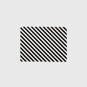 Black Stripe Buttering Board