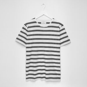 Essential Tee - Twin Breton Stripe