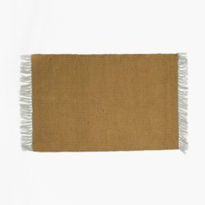 Small Nomad Rug, Curry