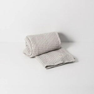 Organic Hand Towel, Light Grey
