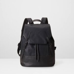 Dean Everyday Drawstring Rucksack, Black