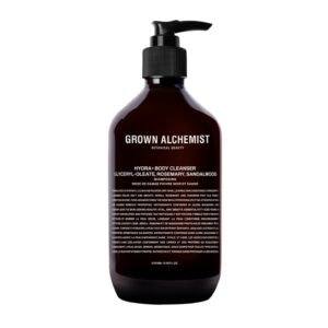 Hydra+ Body Cleanser: Emerald Cypress CO2 Extract, Rosemary, Sandalwood