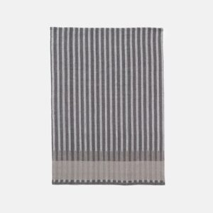 Grain Jacquard Tea Towel, Grey