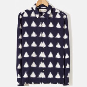 Garage Shirt, Navy, Ikat Arrow