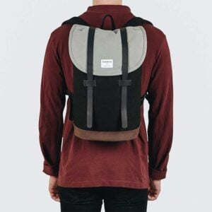 Stig Backpack, Multi, Black, Grey, Brown