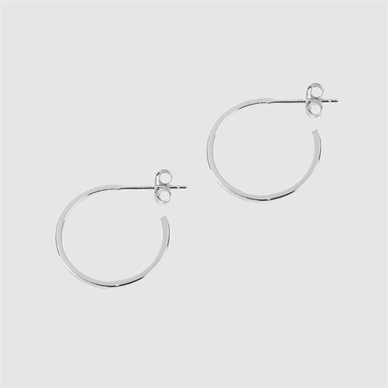 6fb0e8dbd Matthew Calvin Thin Wire Hoops, Silver £38.00