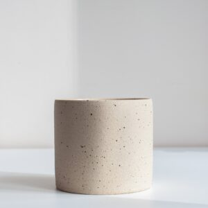 Medium planter - speckled