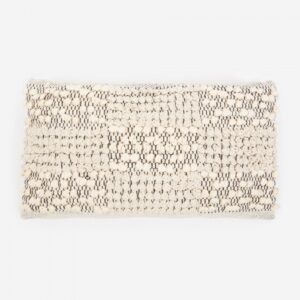 Rectangular Ivy Textured Pillow