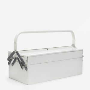 White Metal Toolbox