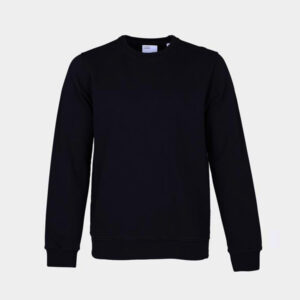 Mens Organic Crewneck in Black