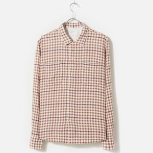 Tangier Cotton Garage Shirt II, Brown Check
