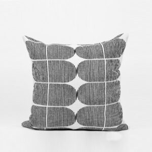 Hand Block Printed & Quilted Cushion
