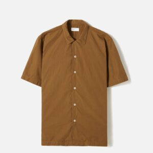 Road Shirt In Khaki Poplin