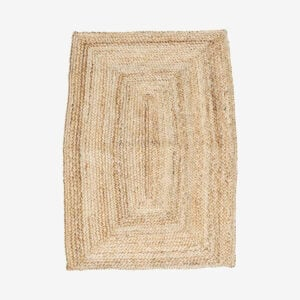 Braided Natural Hemp Rug