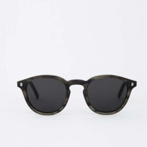 Nelson Sunglasses, Green Denim