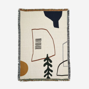 Ferm Living, Mirage Blanket, Off White