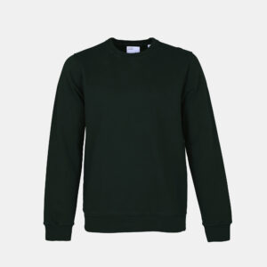 Classic Organic Sweatshirt Hunter Green