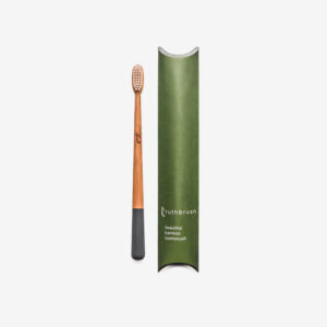 Bamboo Toothbrush Grey