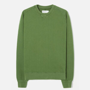 Classic Crew Sweatshirt In Green