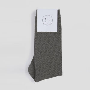 Waffle Socks, Olive