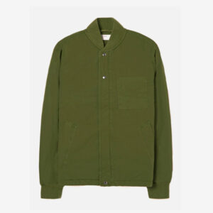Carlton Jacket, Green Quilt Insulated Cotton