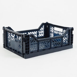 Storage Crate Medium, Navy Blue