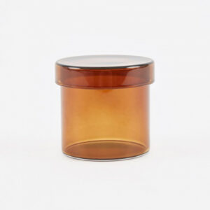 Hay small Container, amber