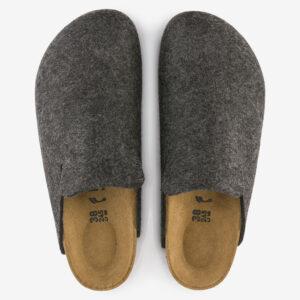Davos wool felt charcoal