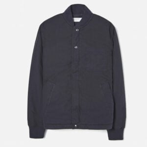 Carlton Jacket, Navy Quilt Insulated Cotton