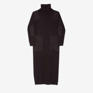 Theodore Knit Dress Black