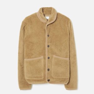 Lancaster Jacket In sand Mountain Fleece