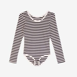 Connor body Suit black and white stripe