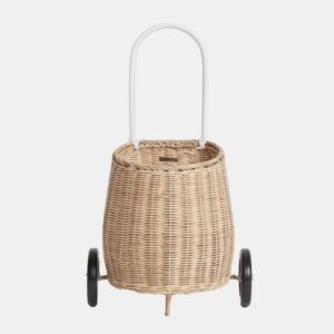 LUGGY straw basket
