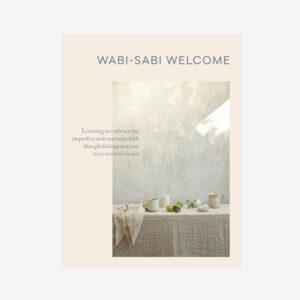 wabi-sabi welcome book