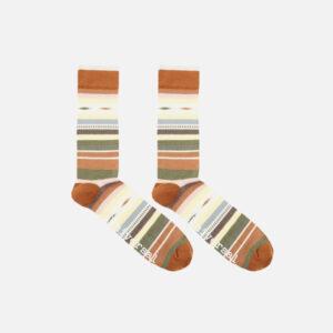 Blanket stripe sock in Multi