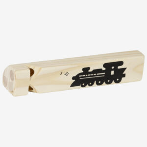 goki, wooden train whistle